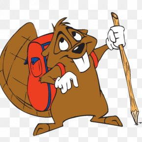 Beaver Drawing - Beaver Sports Hiking Camping Clip Art Outdoor Recreation PNG