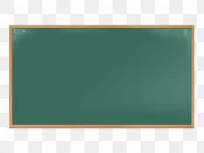 Green Chalkboard - Rectangle Green PNG