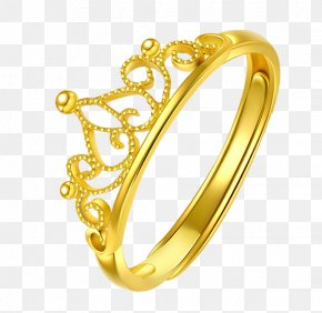 Golden Crown - Ring Icon PNG