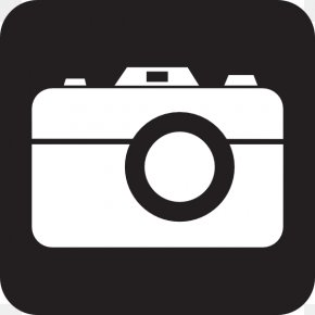Camera Icon Clip Art , Royalty - Clip Art PNG