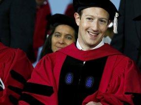 Mark Zuckerberg - Mark Zuckerberg Harvard University Graduation Ceremony Facebook Honorary Degree PNG