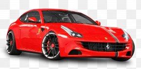 Red Ferrari Car - Ferrari FF Ferrari F12 Sports Car Ferrari F430 PNG
