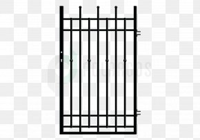 Gate - Wicket Gate Wrought Iron Metal Fence PNG