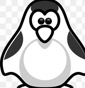Madagascar Penguins - Penguin Black And White Clip Art PNG