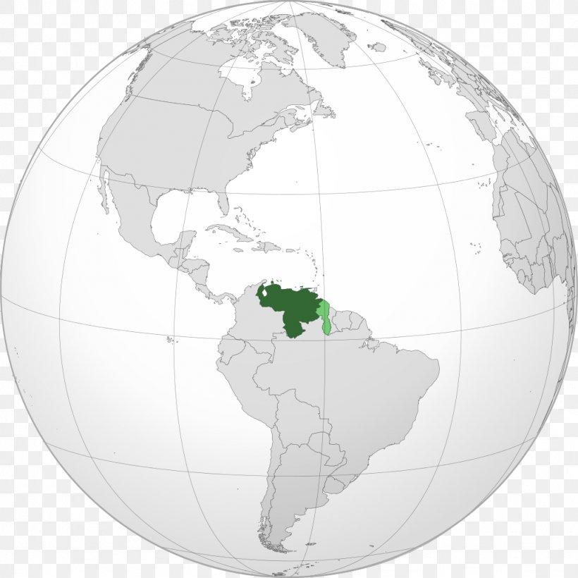 Venezuela World Map Country, PNG, 1024x1024px, Venezuela ...