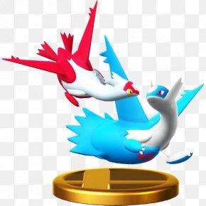 Pokemon - Latias Super Smash Bros. For Nintendo 3DS And Wii U Latios Pokémon Black 2 And White 2 PNG