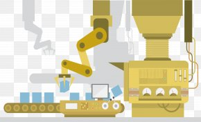 Production Line Packer - Machine Factory Machine Factory Illustration PNG