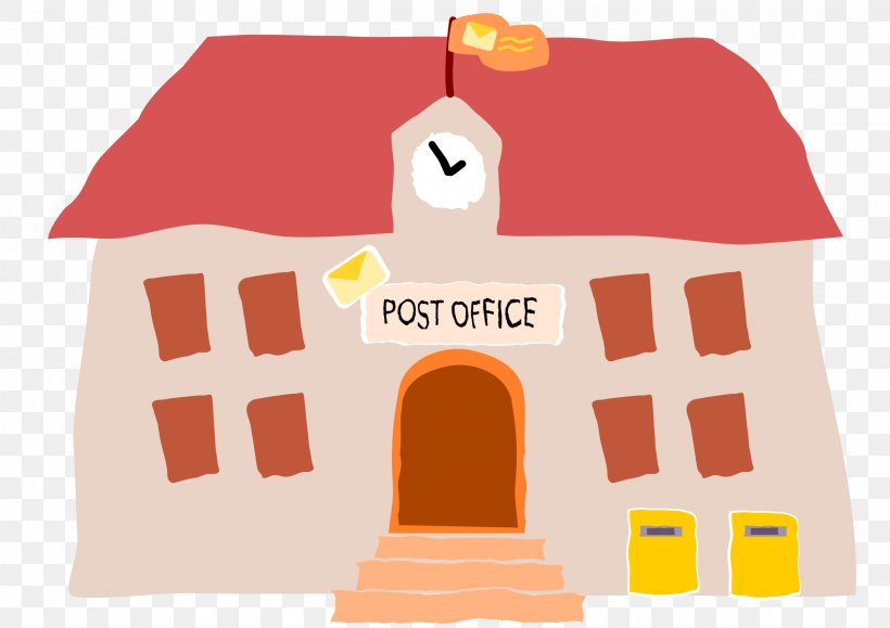 Post Office Mail Microsoft Office Clip Art, PNG, 2400x1697px, Post Office, Brand, Building, Drawing, Email Download Free