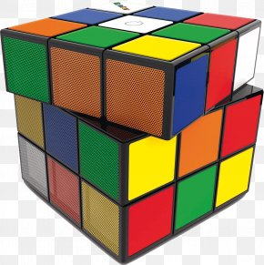 Rubik's - Rubik's Cube Loudspeaker Wireless Speaker Bluetooth Microphone PNG