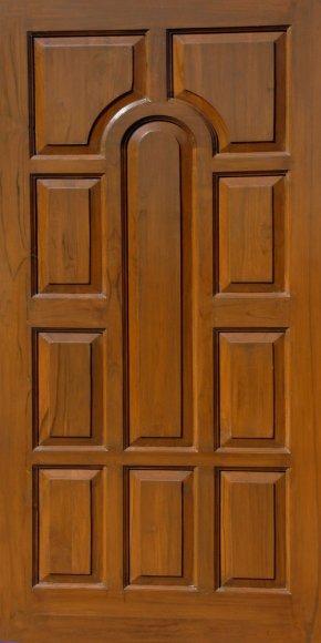 Wood Door - Door Window Solid Wood Panelling PNG
