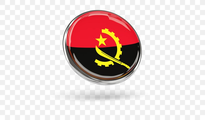 Flag Of Angola Logo Png 640x480px Angola Brand Emblem Flag Flag Of Angola Download Free