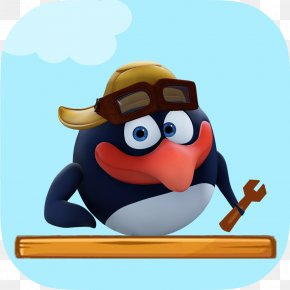 Penguin - Pin Krosh Animated Film Character PNG