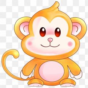 Golden Monkey - Monkey Brains PNG