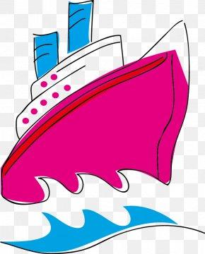 Ship Material - Passenger Ship Clip Art PNG