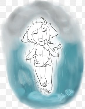 Rainy Day - Drawing Cartoon Turquoise /m/02csf PNG