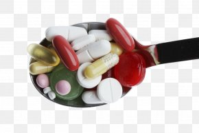 Spoon Of Medicine - Pharmaceutical Drug Gout Disease Hyperuricemia PNG