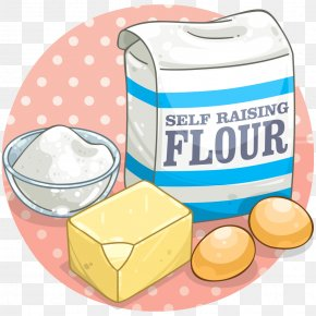 Flour - Cupcake Ingredient Flour Baking Clip Art PNG