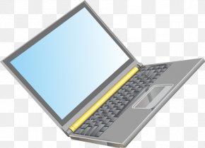 Vector Pattern Laptop - Laptop Netbook Computer PNG