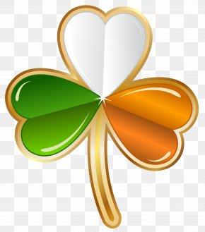 Shamrock Hearts Cliparts - Ireland Shamrock Saint Patricks Day Four-leaf Clover Clip Art PNG