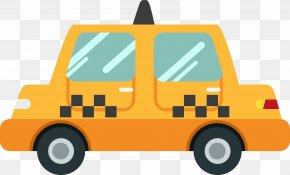 Cartoon Taxi - Taxi Cartoon PNG