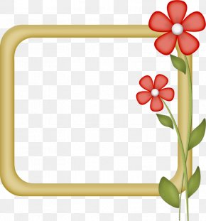 Pin - Floral Design Paper Clip Art Borders And Frames Picture Frames PNG