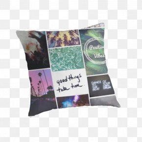 Colage - People Cushion Throw Pillows Skin PNG