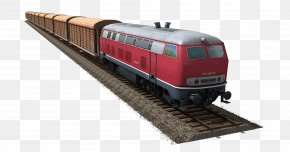 Train Free Download - Train Rail Transport Passenger Car PNG