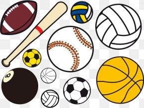 Vector Ball Games - Ball Game Sport Clip Art PNG