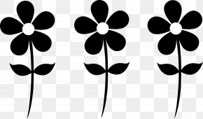 Free Silhouettes - Flower Free Content Clip Art PNG