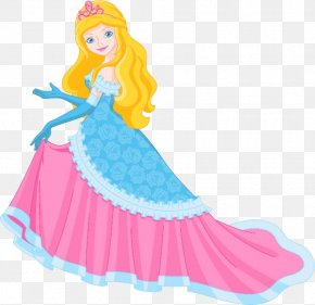 The Princess In A Long Dress - Princess Stock Photography Royalty-free Clip Art PNG