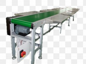 Machine Conveyor System Conveyor Belt Automation Manufacturing PNG
