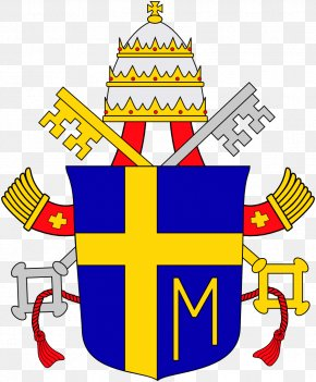 Pope Francis - Pope Coat Of Arms Papal Coats Of Arms Papal Tiara Marian Cross PNG