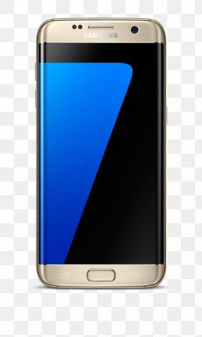 Samsung - Samsung GALAXY S7 Edge Smartphone 4G Telephone PNG