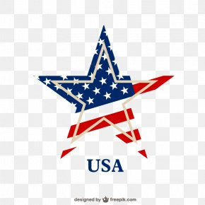 Creative Pentagram - Flag Of The United States PNG
