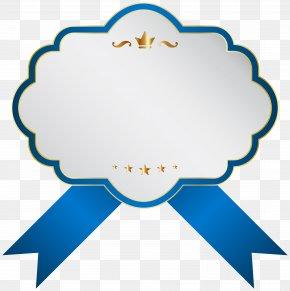 Blue White Label Clip Art Image - Label Icon Clip Art PNG