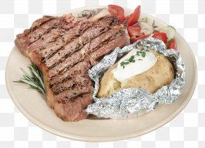 Steak - Rendang Satay Beefsteak Dendeng T-bone Steak PNG