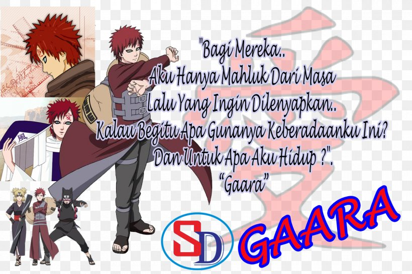 Cartoon Gaara Human Behavior Poster Png 1200x800px