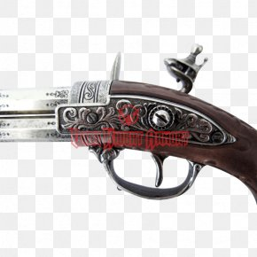 Barrel Wood - Trigger Firearm Pistol Flintlock Weapon PNG