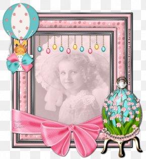 Easter Frame - Easter Bunny Picture Frames Desktop Wallpaper PNG
