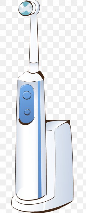 Cartoon Electric Toothbrush - Electric Toothbrush Cartoon PNG