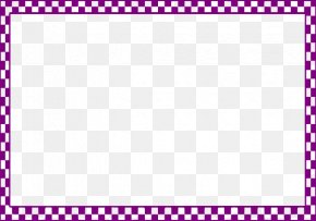 Cute Frame Cliparts - Black And White Check Clip Art PNG