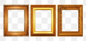 Gold Frame Collection - Picture Frame Gold Decorative Arts PNG