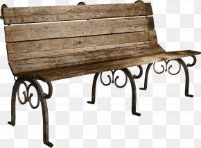 Park Bench - Table Bench Clip Art PNG