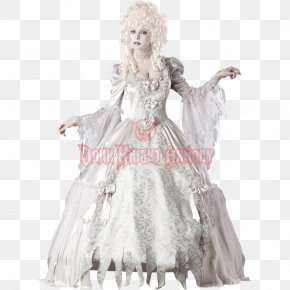 Ghost Costume - Ghoul Halloween Costume Ghost PNG