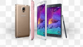 Samsung - Samsung Galaxy Note 4 Smartphone Telephone Android PNG