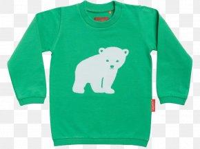 T-shirt - T-shirt Polar Bear Sweater Sleeve PNG
