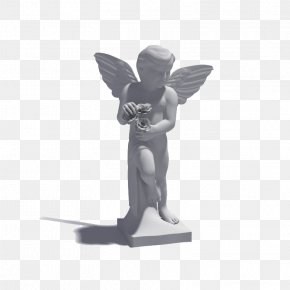 Angel Sculpture - 3D Modeling Sculpture 3D Computer Graphics Texture Mapping .3ds PNG