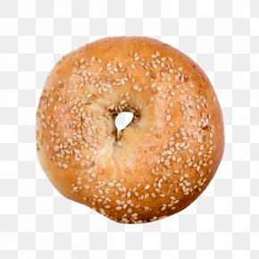 Bagel - Bagel Pumpernickel Sesame Onion Baking PNG