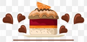 Vector Chocolate Cake Material - Bakery Cupcake Chocolate Cake Cafe Red Velvet Cake PNG