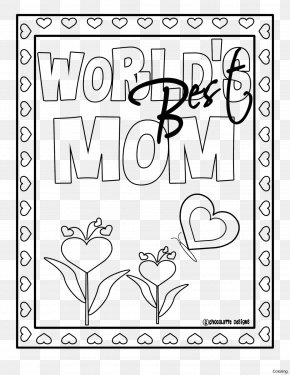 Mother's Day - Mother's Day Mother Day Coloring Coloring Book Party PNG